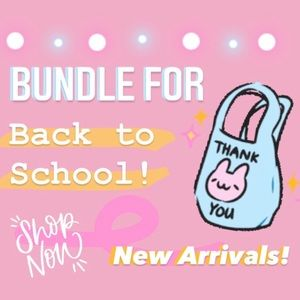 NEW ITEMS!! OFFER AND BUNDLE!!